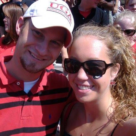 Ross and Britney - Go Dawgs!